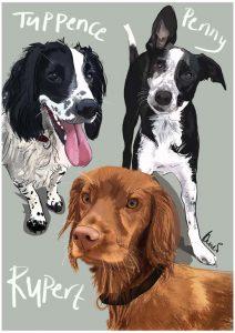 02273d68f030 Custom pet-portraits, Dog-Portraits, Cat-Portraits, Family-Portraits ...